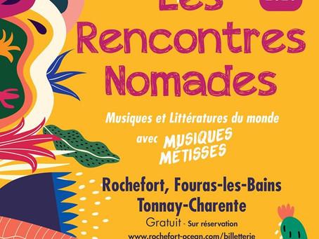 FESTIVAL DES RENCONTRES NOMADES - 28 août 2020