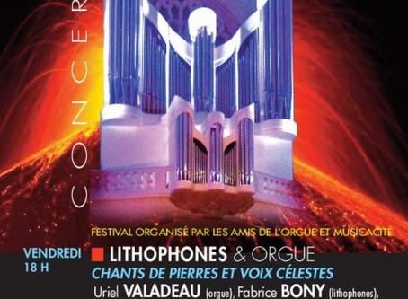 Rencontre LIthophone & Orgue d'Eglise
