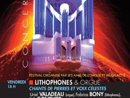 Rencontre LIthophone & Orgue d'Eglise