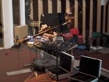 Enregistrement aux Studios Alhambra, Rochefort.