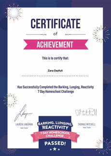 Reactivity 7 Day Course