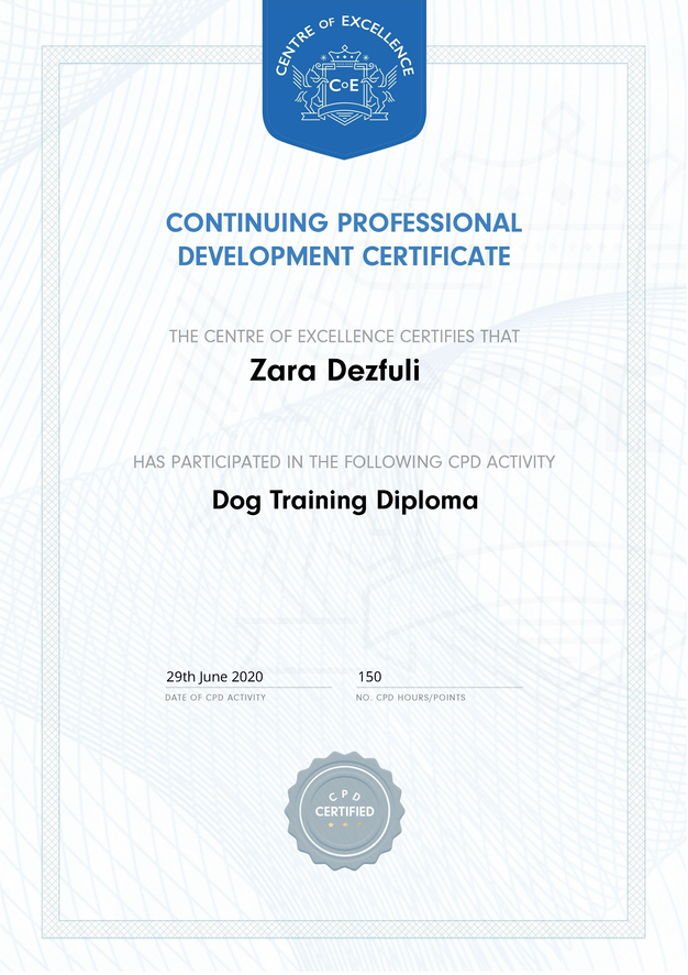 Dog Training Diploma