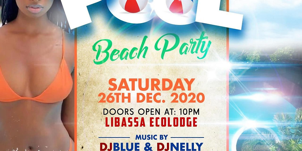 Biggest POOL PARTY IN LIBERIA