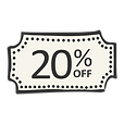 20% Off Image