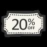 20% de descuento