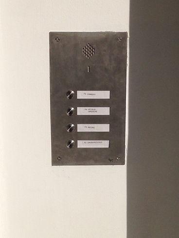 New btp door entry system