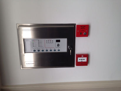 Complete fire alarm installation