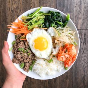 Healthy Bibimbap