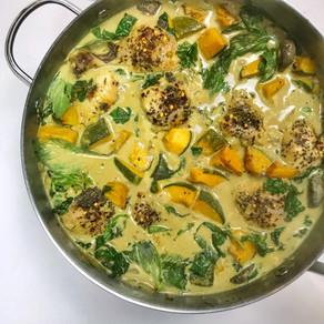 One Skillet Chicken Curry