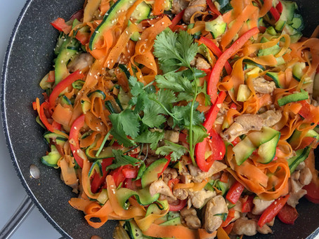 "Paleo Chicken ""Noodles"""