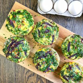 Kale & Sweet Potato Egg Cups