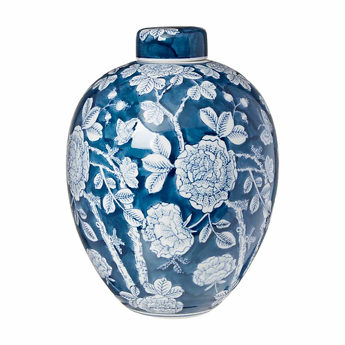 Camille Print Lidded Jar