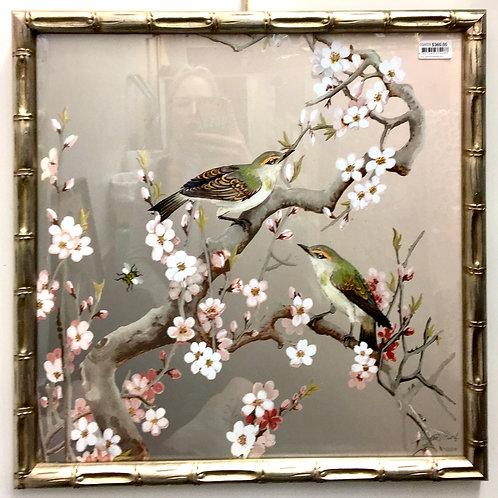 'Blossom Birds' Framed Print