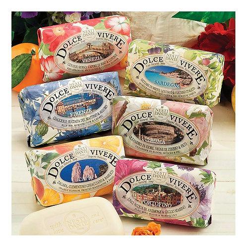 Dolce Vivere Assorted Nesti Dante Luxury Italian Soaps