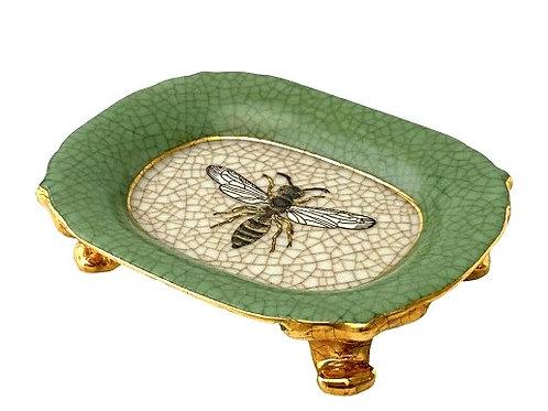 Abeja Verde Jardiner Savon Soap Dish