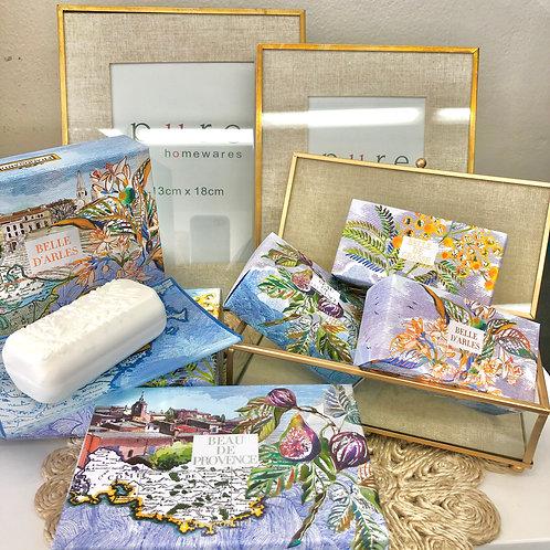 Provence Assorted Luxury Bar Soaps & Soap Dishes - Fragonard Parfumeur