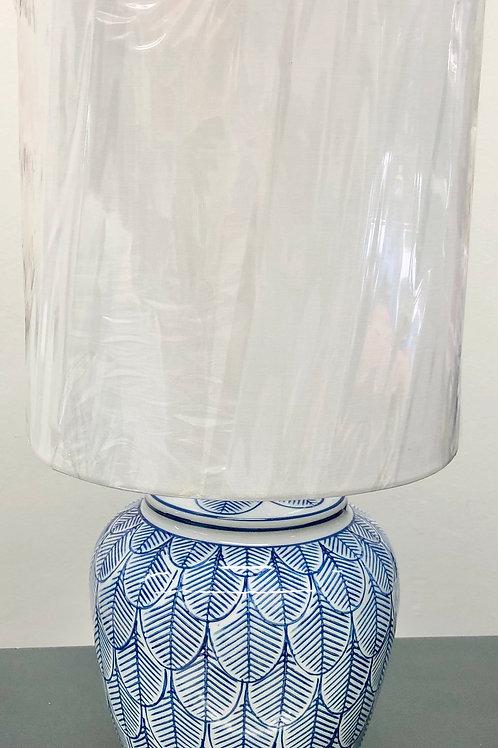 'Harrington' Ceramic Lamp with Shade