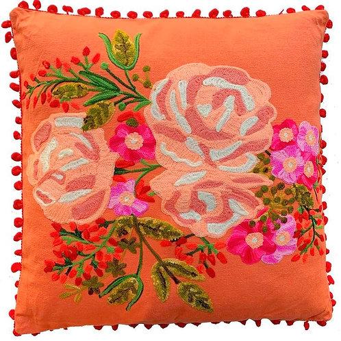 'Roses' Square Cushion