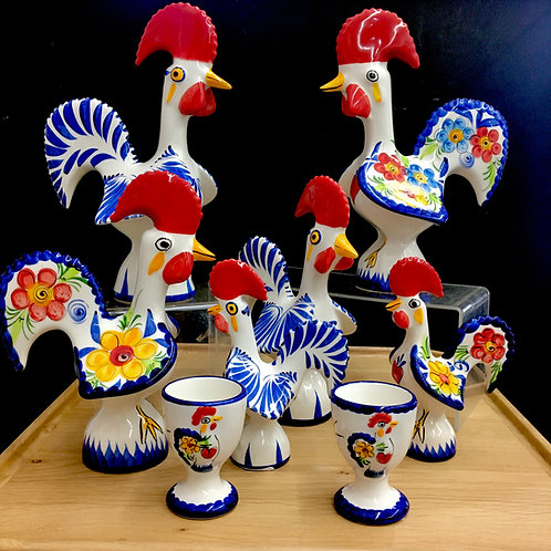 Le Coq Du Bonheur ~ Roosters of Luck & Happiness - assorted