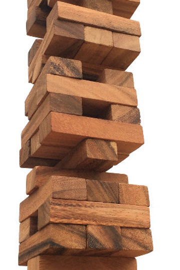 Tumble Tower Wooden Game