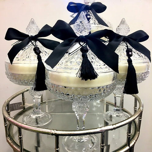 Footed Oleria Emporium Soy Candles - Assorted Fragrances
