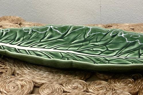 Cabbage Narrow Platter - Bordallo Pinheiro