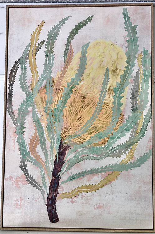 'Delicate Banksia' Print on Canvas