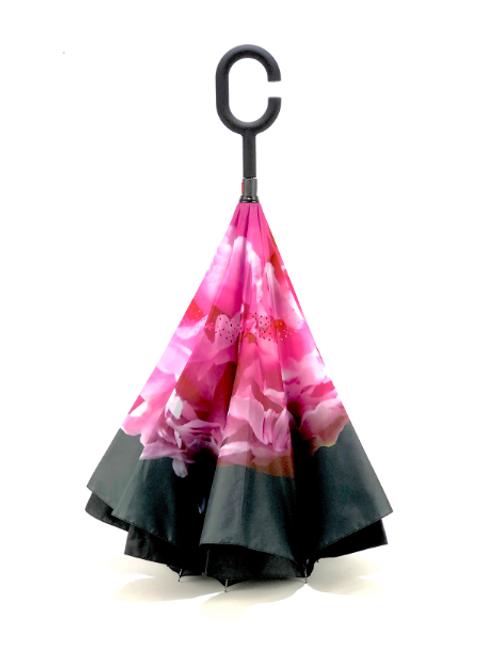 Peony Reverse Umbrella