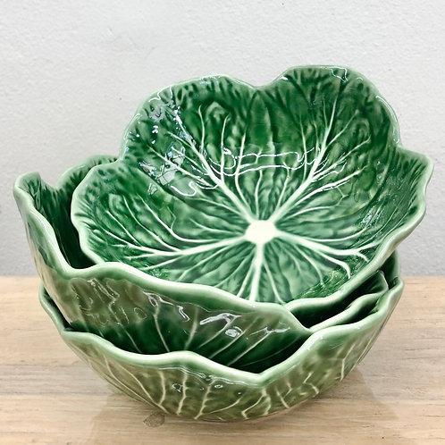 Cabbage Medium Bowl - Bordallo Pinheiro