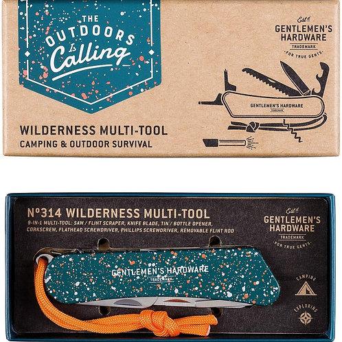 9-in-1 Wilderness Multi-Tool - Gentlemen's Hardware