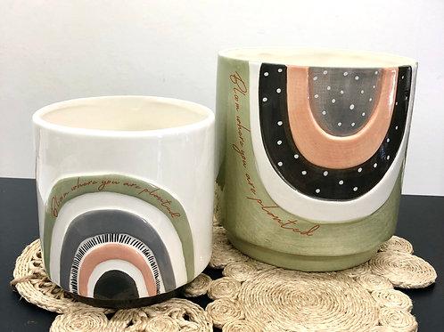 'Bloom' Ceramic Planter Pots