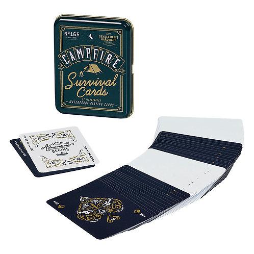 Campfire Survival Playing Cards - Gentlemen's Hardware
