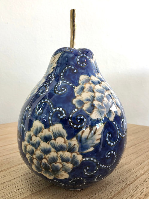 'Sousaku' Large Ceramic Pear
