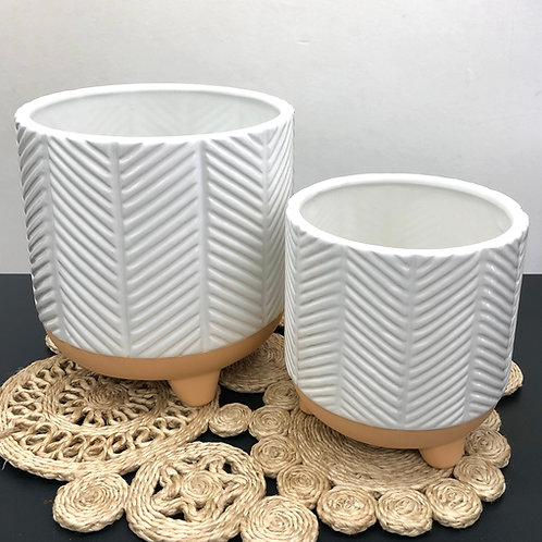 'Zari' Ceramic Planter Pots