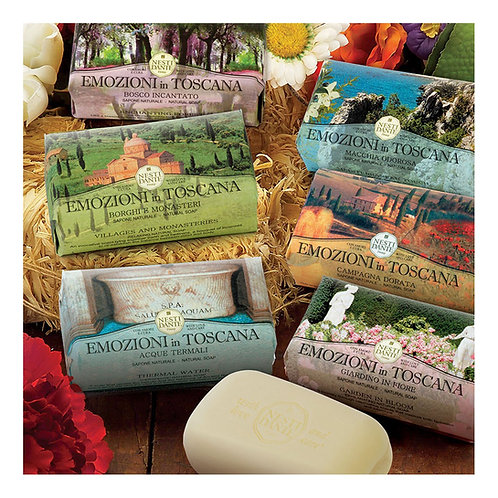 Emozioni in Toscana Assorted Nesti Dante Luxury Italian Soaps