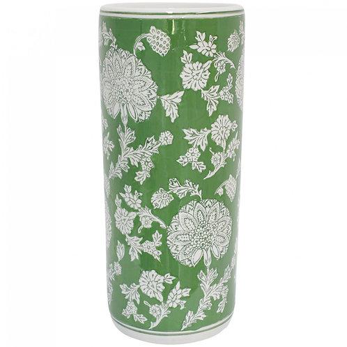'Fern Tapestry' Ceramic Umbrella Stand