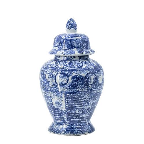 'Zaro' Small Ceramic Ginger Jar