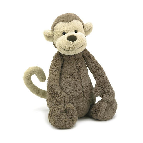 Medium Bashful Monkey - Jellycat Plush Toys