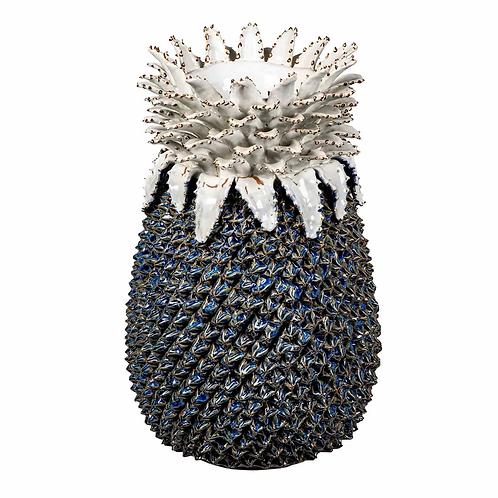 Textured Pineapple Vase