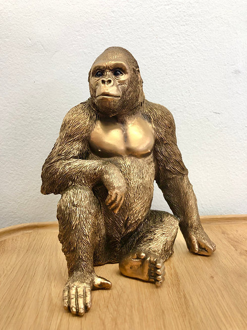 'Walton' Bronze Gorilla Statue