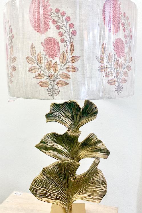 'Pink Flowers' Custom Lamp Shade
