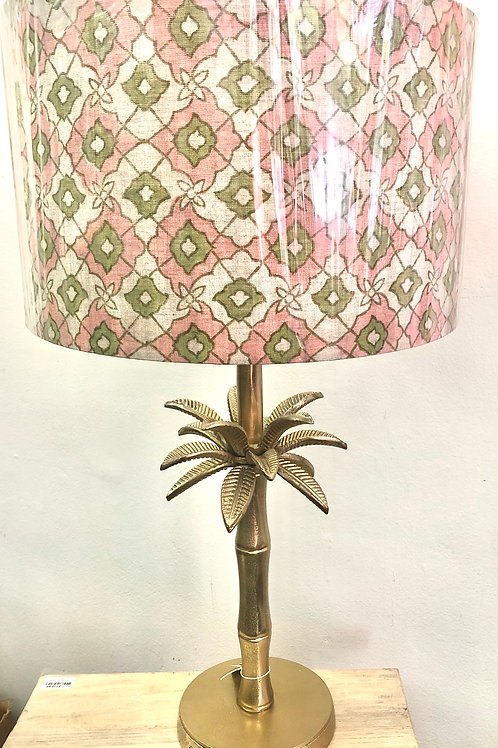 Palm Tree Gold Lamp Base