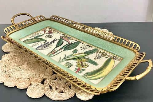 'Botanical Jungla' Ceramic Tray