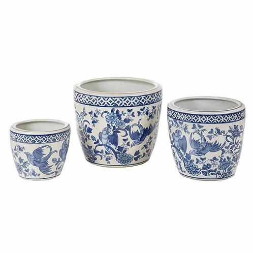 Jardin Print Pot - Assorted Sizes