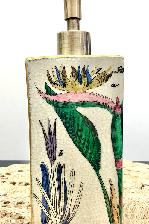 'Botanical' Ceramic Soap Dispenser