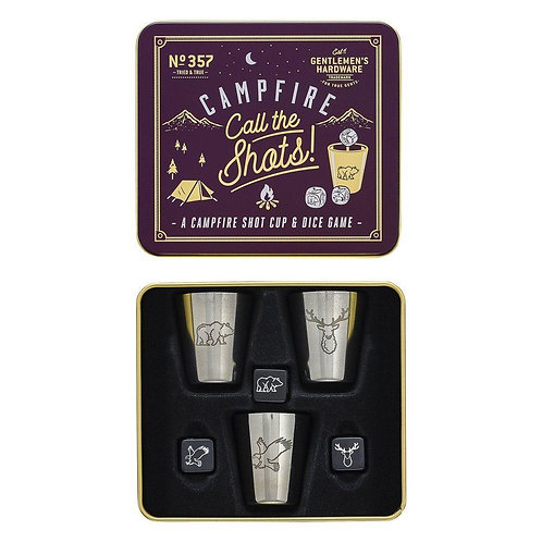 'Call the Shots' ~ A Campfire Shot Cup & Dice Game - Gentlemen's Hardware
