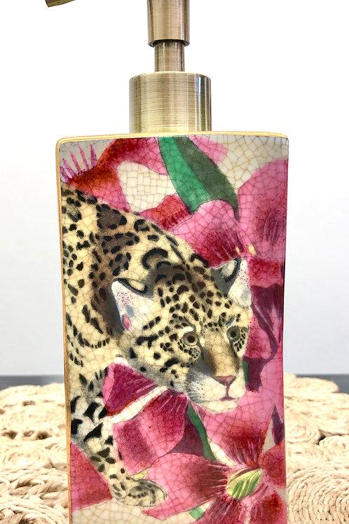 'Jaguar Isla' Ceramic Soap Dispenser