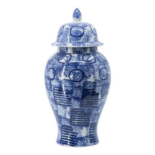 'Zaro' Large Ceramic Ginger Jar