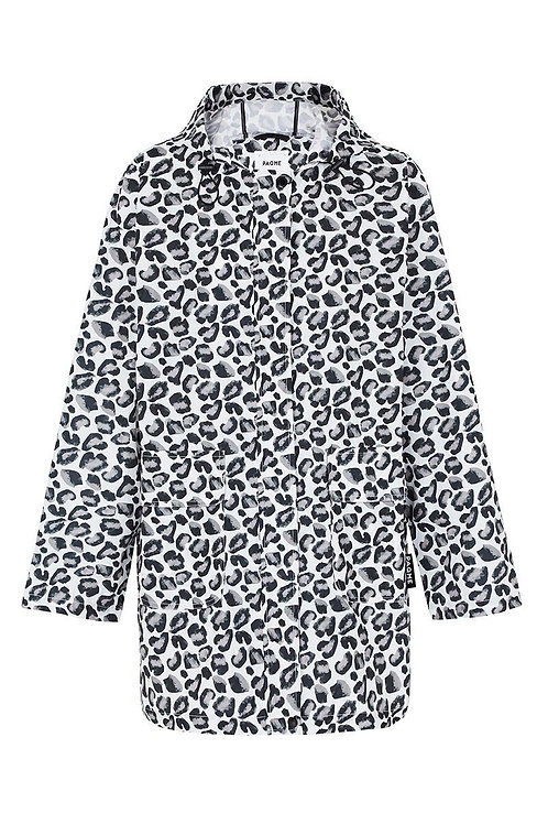 'Geo Leopard' Patterned Raincoat - PAQME