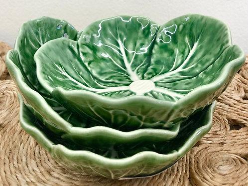 Cabbage Small Bowl - Bordallo Pinheiro